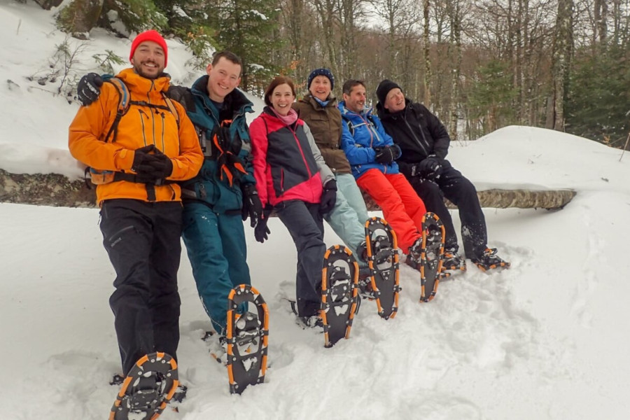 snow shoeing Kolasin