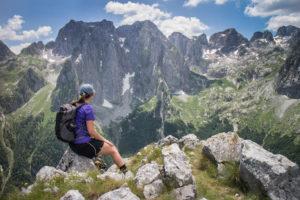 hiking the Via Dinarica