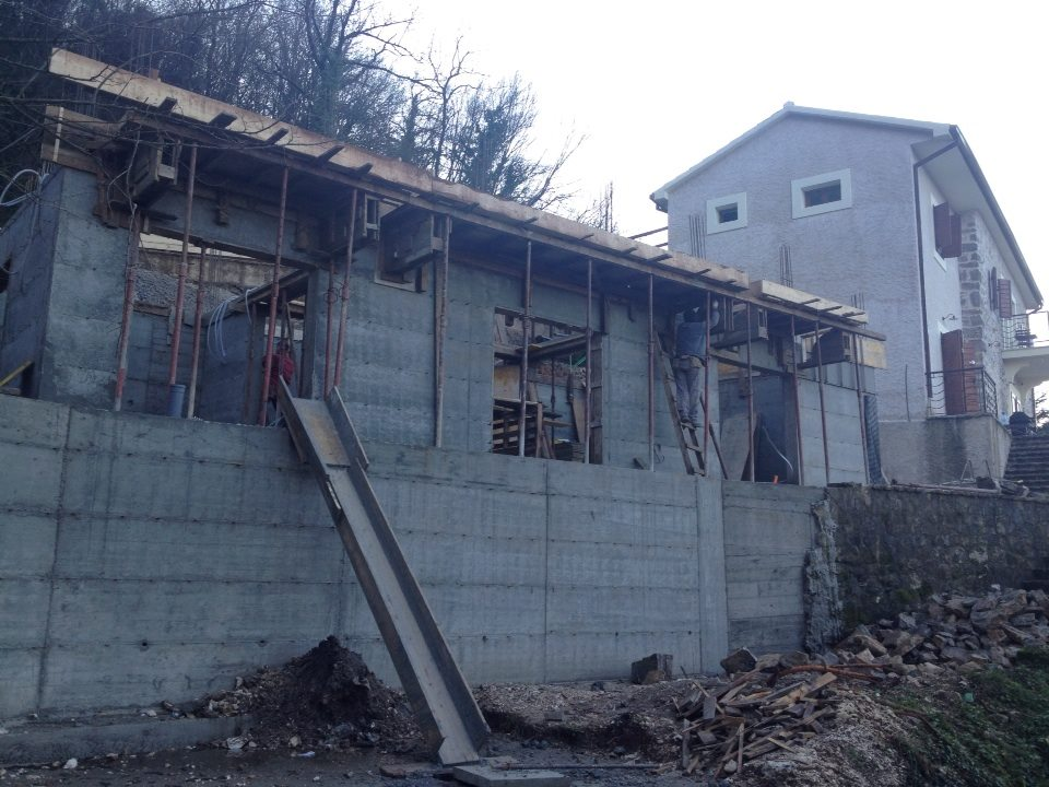 Building a family home in Montenegro