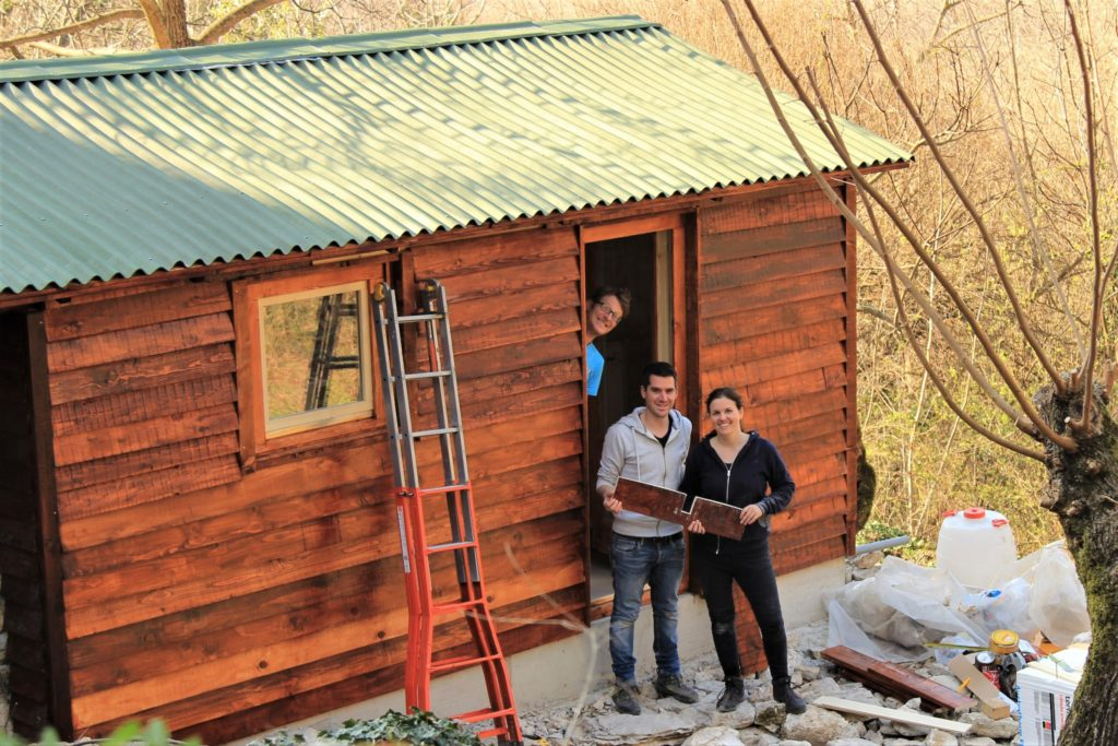 DIY eco-cabin and shed