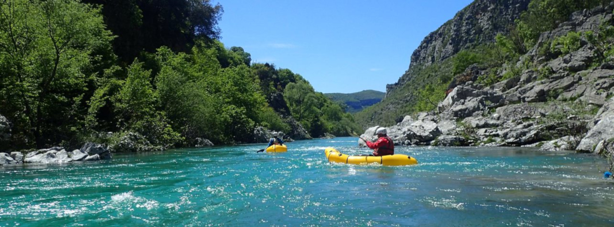 Packrafting Montenegro – a whitewater beginner's course that won't break the bank